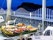 小豆島国際ホテル・バーベキュー