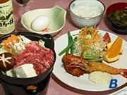 ホテルモンブラン白馬・食事一例