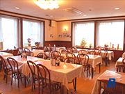 ホテルモンブラン白馬・食堂